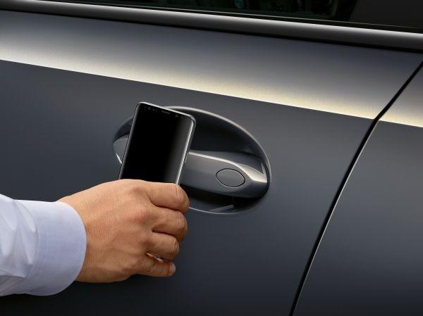 Handy wird zum Autoschlüssel beim BMW-Leasing