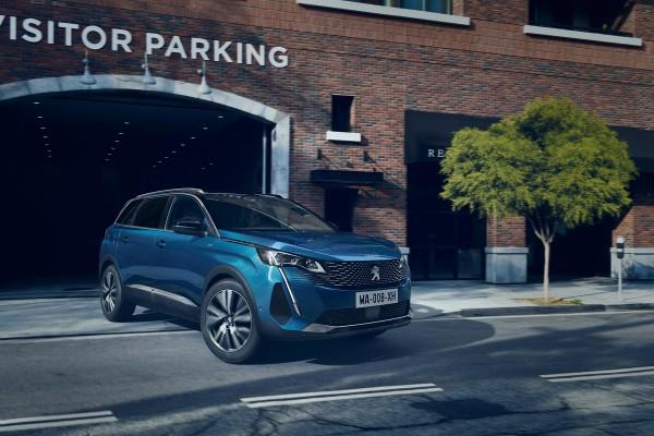 Facelift für das Peugeot 5008-Leasing