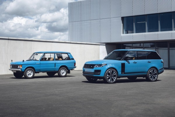 "Retro-Leasing: Range Rover ""Fifty"" Homage an die 70ziger"