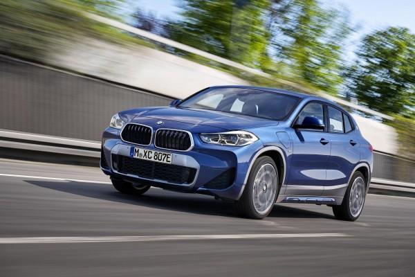 BMW X2 Coupé als Plug-in-Hybrid zu leasen
