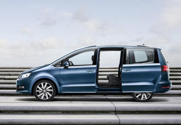 Nur noch als Benziner: VW Sharan-Leasing