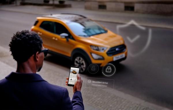 FORD-Leasingauto meldet Einbruch aufs Smartphone