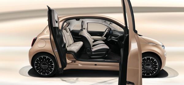 Elektro-FIAT 500 als schicker Dreitürer leasen